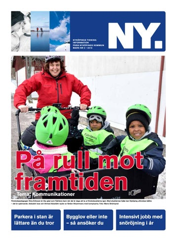 Nyköpings Tidning Nr 2 2018 By Nyköpings Kommun Issuu