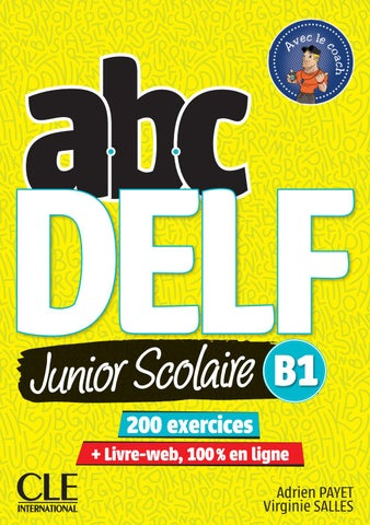 Extrait Abc Delf Junior Scolaire B1 By Cle International Issuu