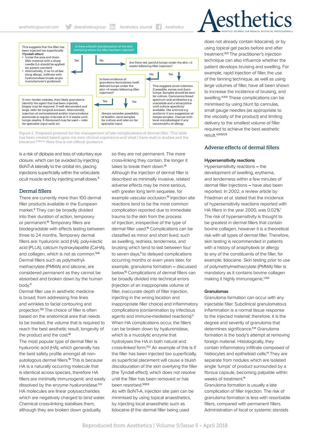 Aesthetics April 2018 by Aesthetics Journal - issuu