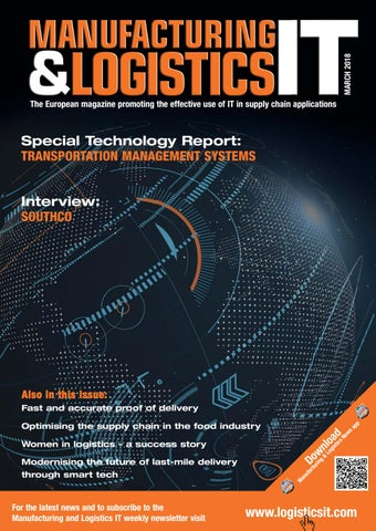 Manufacturing & Logistics IT - March 2018