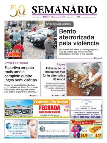 0880f0a8c6 Jornal Semanário – 31 de março de 2018 – Ano 51 – Nº 3425 by Jornal ...