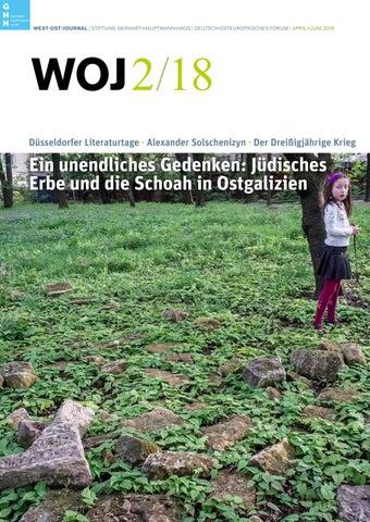 West Ost Journal 2 2018 By Stiftung Gerhart Hauptmann Haus Issuu