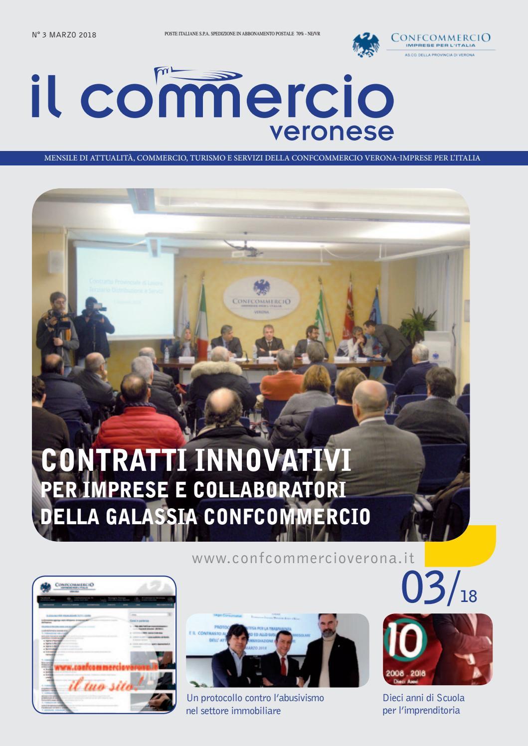 Il Commercio Veronese di marzo 2018 by Confcommercio Verona ...