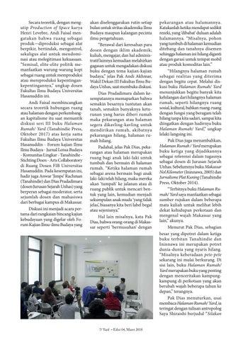 Page 7 of Membincangkan Kota sebagai Hilir dan Panggung
