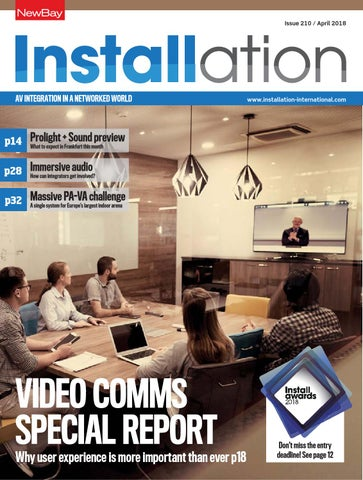 Installation April 2018 Digital Edition by Future PLC - issuu