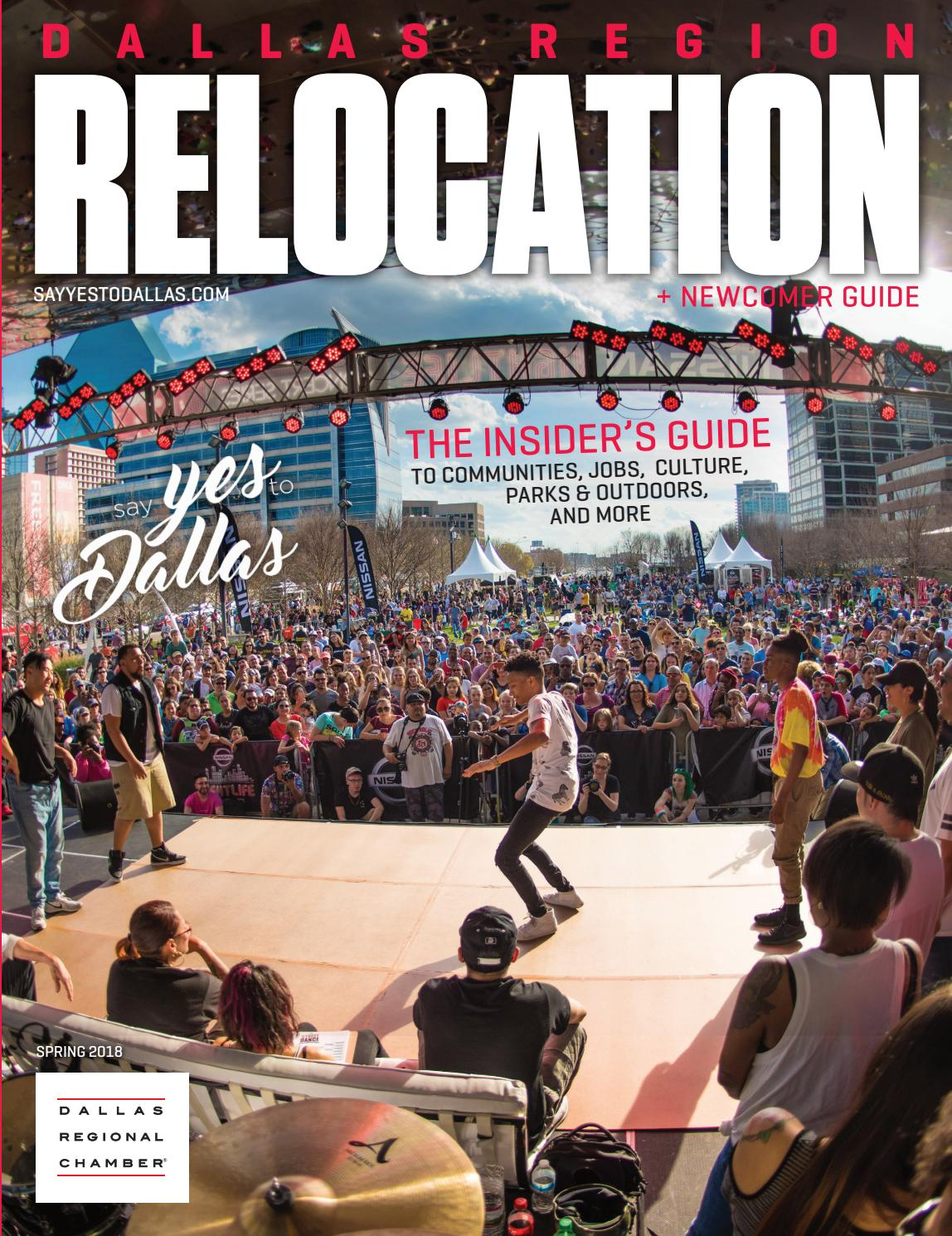 Dallas region relocation newcomer guide spring 2018 by dallas dallas region relocation newcomer guide spring 2018 by dallas regional chamber publications issuu malvernweather Image collections