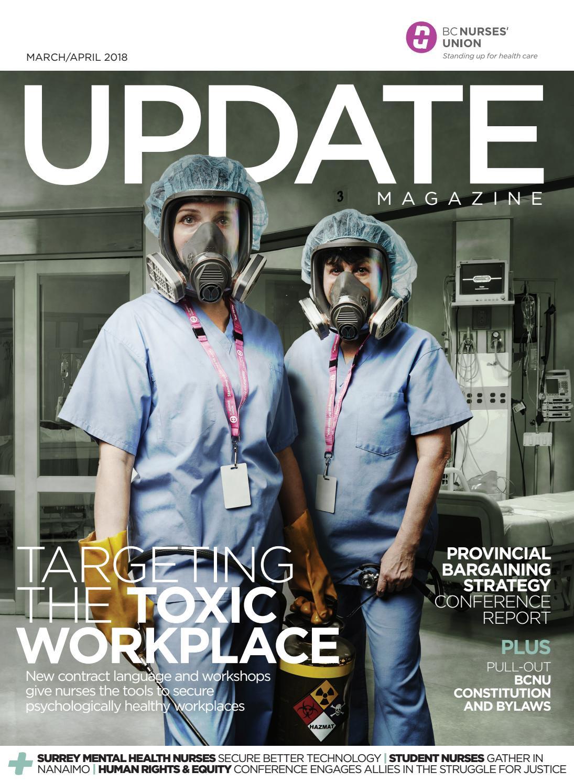 Bcnu Update Magazine March April 2018 By Bc Nurses Union Issuu