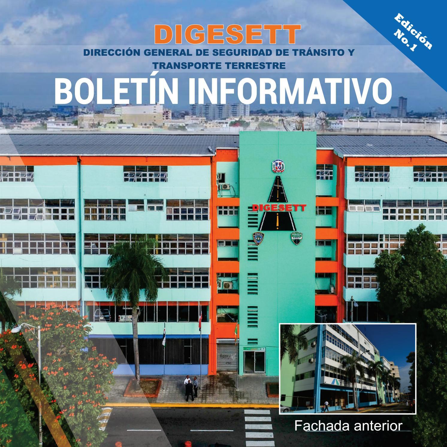Boletín Digesett No 1 Nov 2017 Marzo 2018 By Digesett Issuu