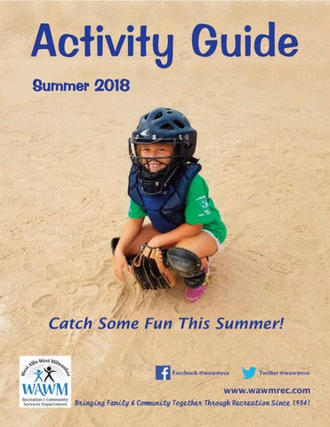 Summer 2018 Activity Guide By West Allis West Milwaukee