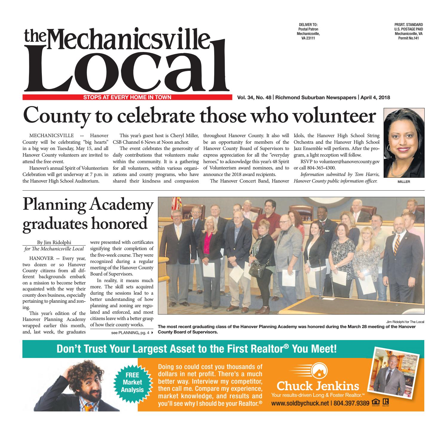 04/04/18 by The Mechanicsville Local - issuu