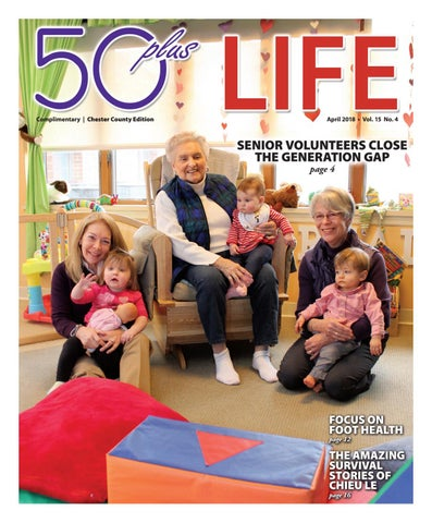 50plus LIFE Cumberland County April 2018 by On-Line Publishers, Inc