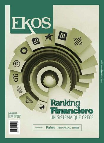 ce2e1a530e18f Revista Ekos – Ranking Financiero 2018 by Ekos - issuu