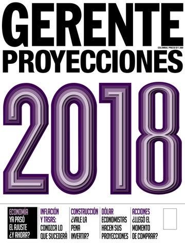 c4fd261f3237 Gerente Proyecciones 2018 by REVISTA GERENTE - issuu