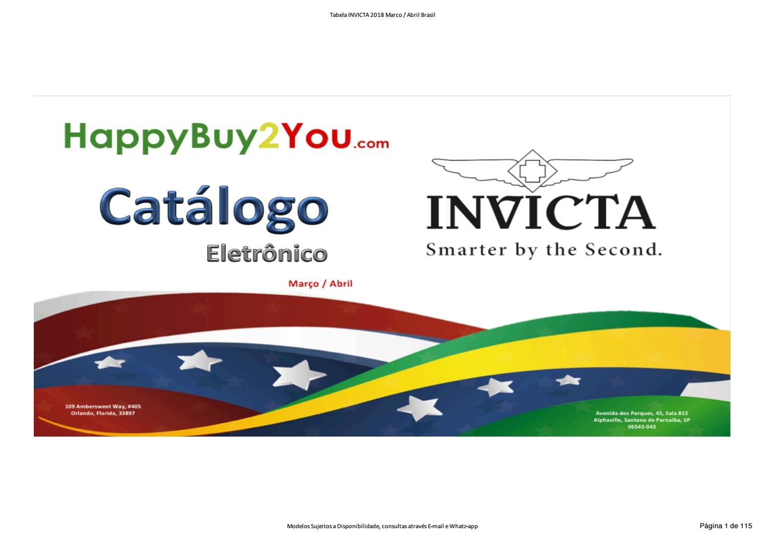3c4de3699d6 Relogios Invicta Price List happybuy2you by HappyBuy2You - issuu