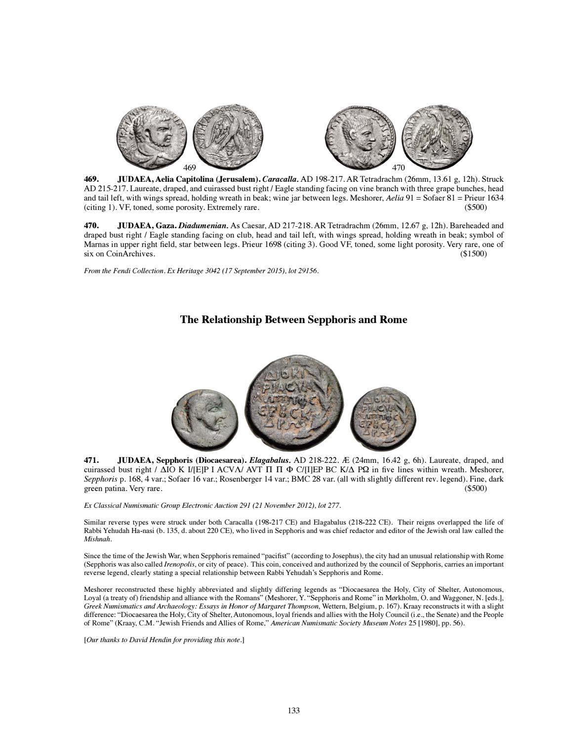 CNG 108 Virtual Catalog by Classical Numismatic Group, LLC