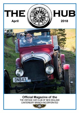 Canterbury Vcc April 2018 By Vintage Car Club Of New Zealand