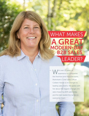 Page 8 of What makes a great modern day B2B sales leader?