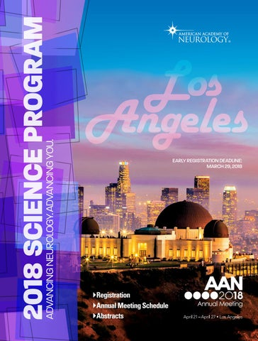 2018 AAN Annual Meeting Science Program by American Academy of