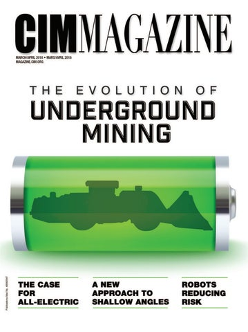 CIM Magazine March-April 2018 by CIM-ICM Publications - issuu