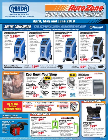 Autozone Tool Amp Equipment Catalog Q2 18 By Niada Issuu