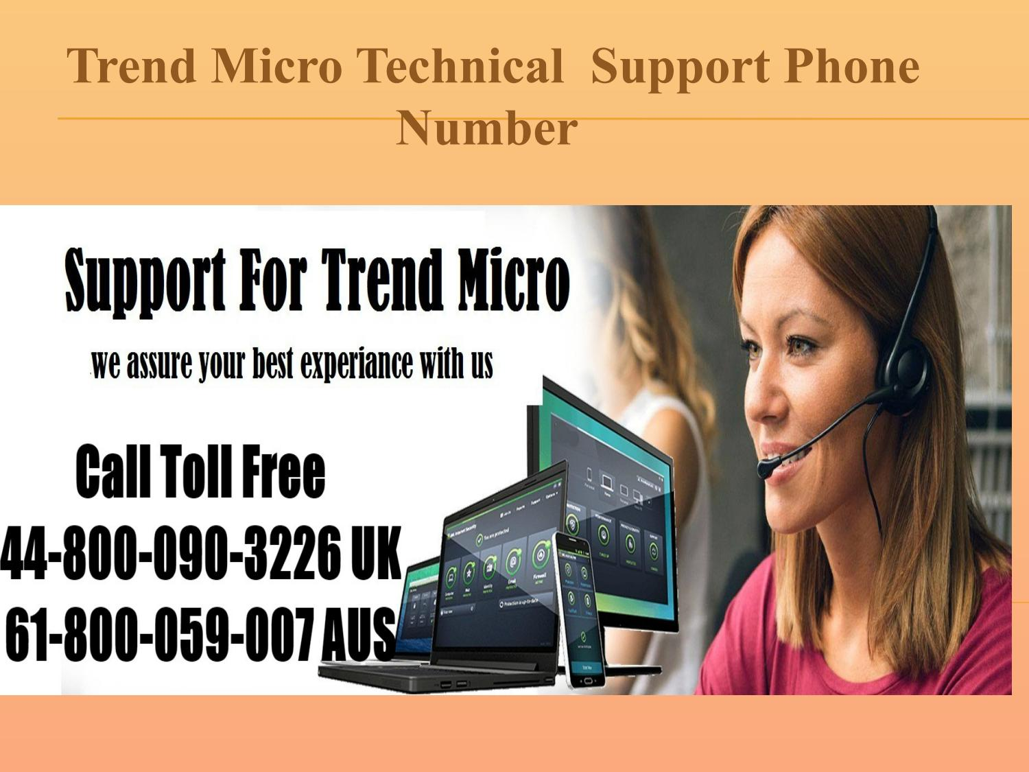 Trend micro technical support phone number by oscarwed2011