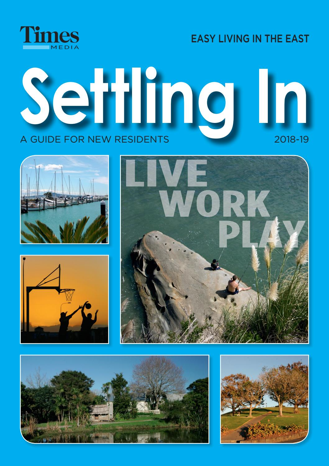 Settling In 2018 East by Times Media - issuu
