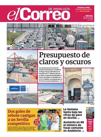 40b9b34a6248 04.04.2018 El Correo de Andalucía by EL CORREO DE ANDALUCÍA S.L. - issuu
