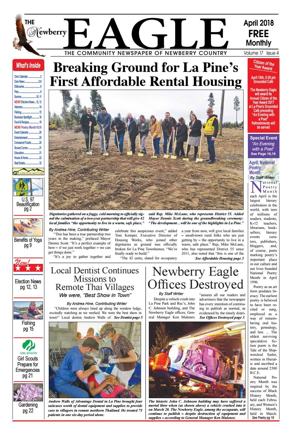 addd93441bc6 The Newberry Eagle April