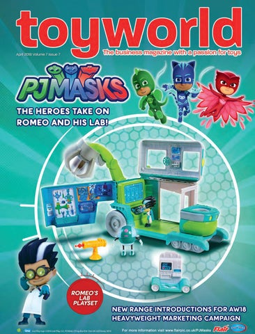 5ba33973e3 Toy World April 2018 by TOYWORLD MAGAZINE - issuu