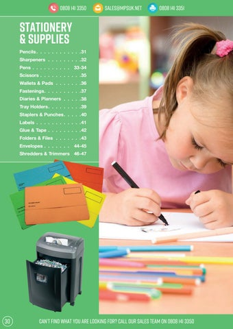 Page 30 of Stationery & Supplies