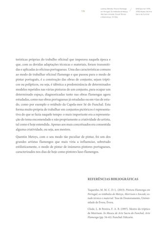 Page 106 of Importações Flamengas na 2ª Metade de Século XVI: O Exemplo das Pinturas de Michiel Cocxie na Sé do Funchal
