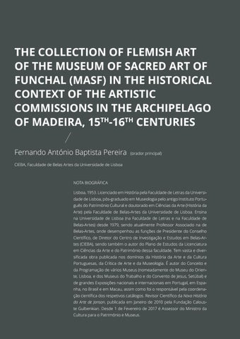 Page 18 of The Collection of Flemish Art of the Museum of Sacred Art of Funchal (MASF) in the Historical Context of the Artistic Commissions in the Archipelago of Madeira, 15th-16th Centuries