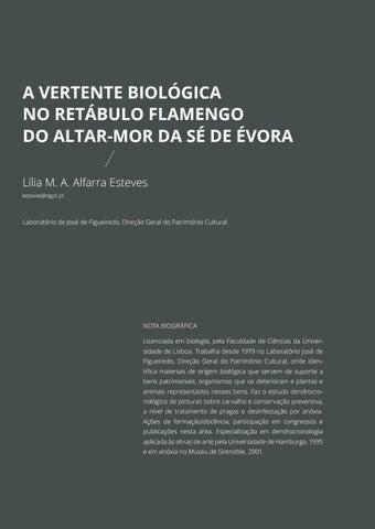Page 202 of A Vertente Biológica no Retábulo Flamengo do Altar-Mor da Sé de Évora