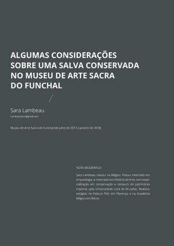Page 219 of Algumas Considerações Sobre uma Salva Conservada no Museu de Arte Sacra do Funchal
