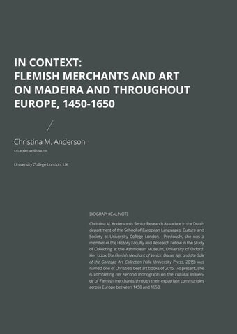 Page 40 of In Context: Flemish Merchants and Art on Madeira and throughout Europe, 1450-1650