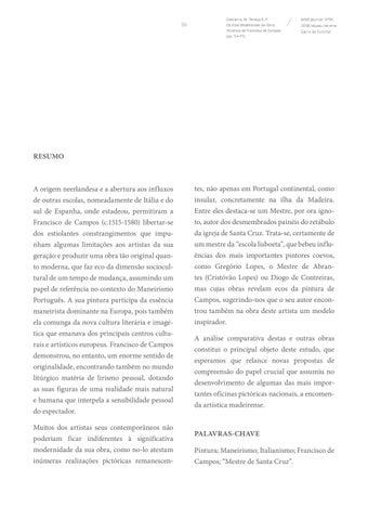 Page 55 of Os Ecos Madeirenses da Obra Pictórica de Francisco de Campos