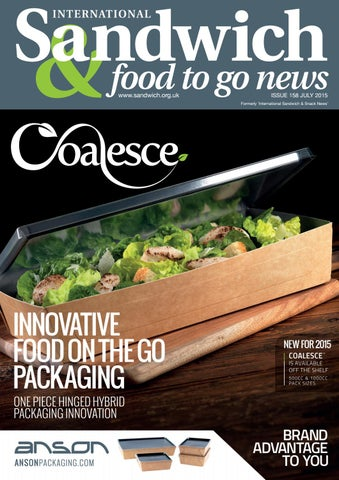 Sandwich & Food To Go News - Issue 158 by jandmgroup - issuu