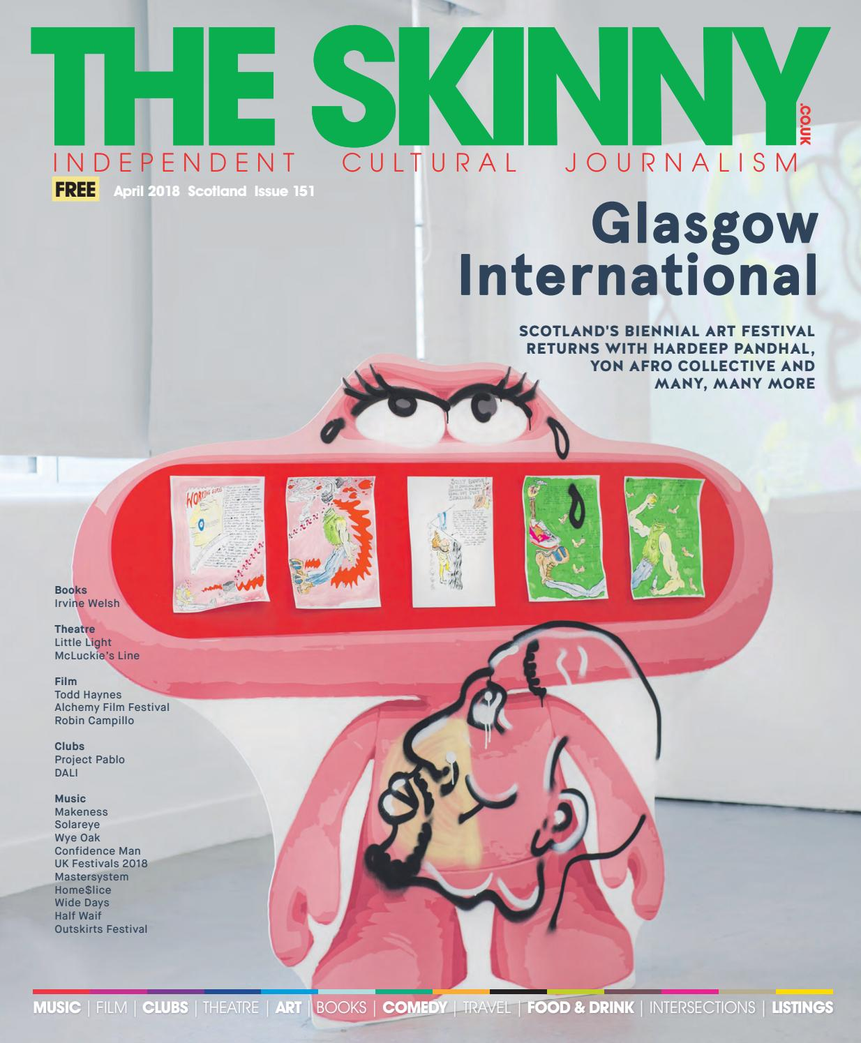 48417dcfdf3 The Skinny April 2018 by The Skinny - issuu