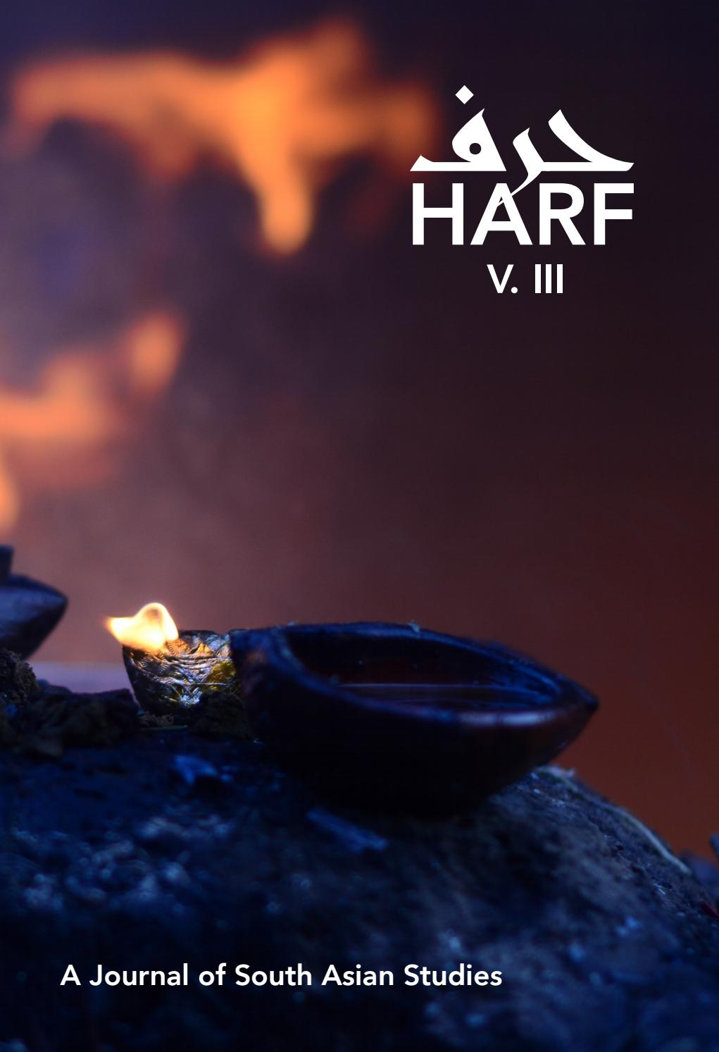 Harf — Volume Three by Harf: A Journal of South Asian