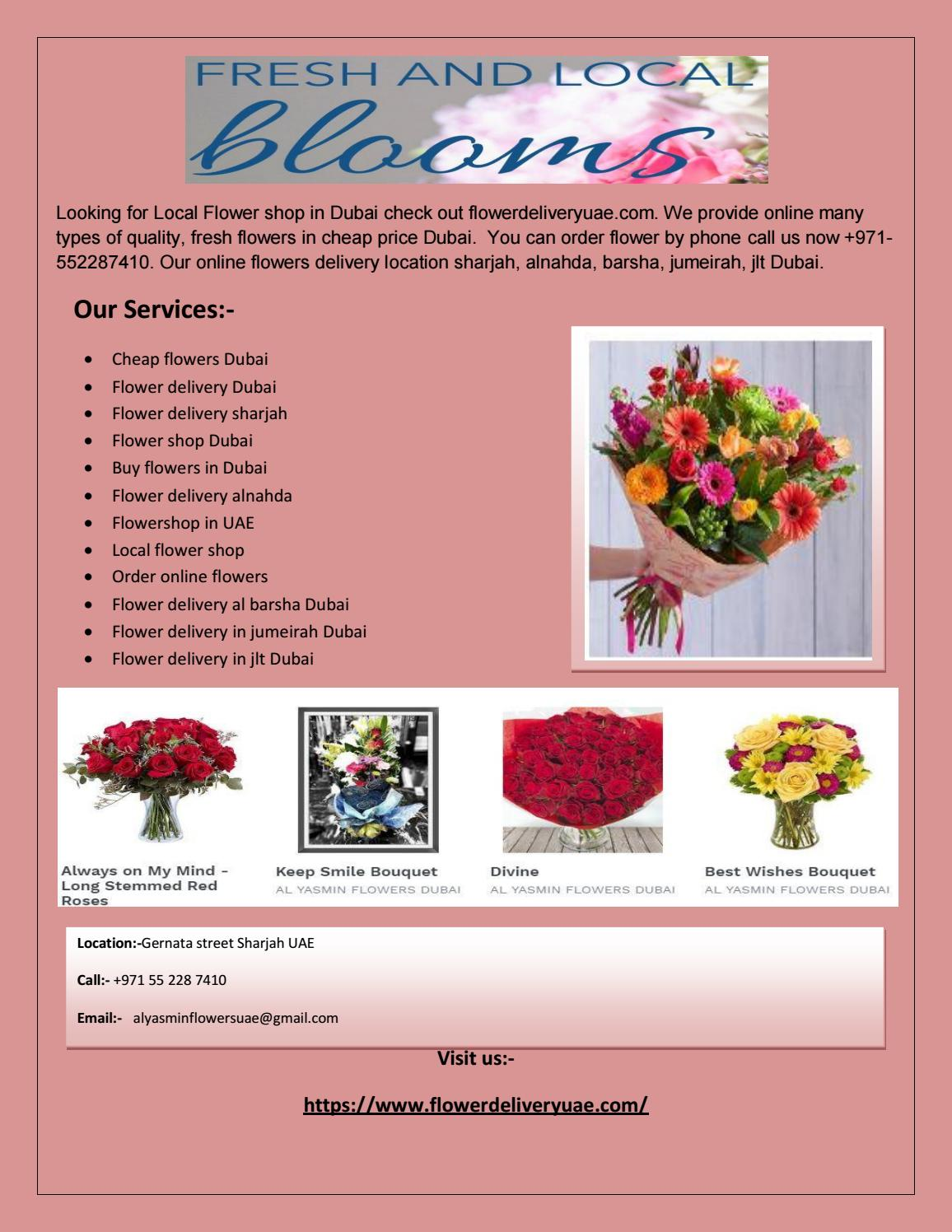 Order Flowers From 79 Aed Your Local Flower Shop In Uae By