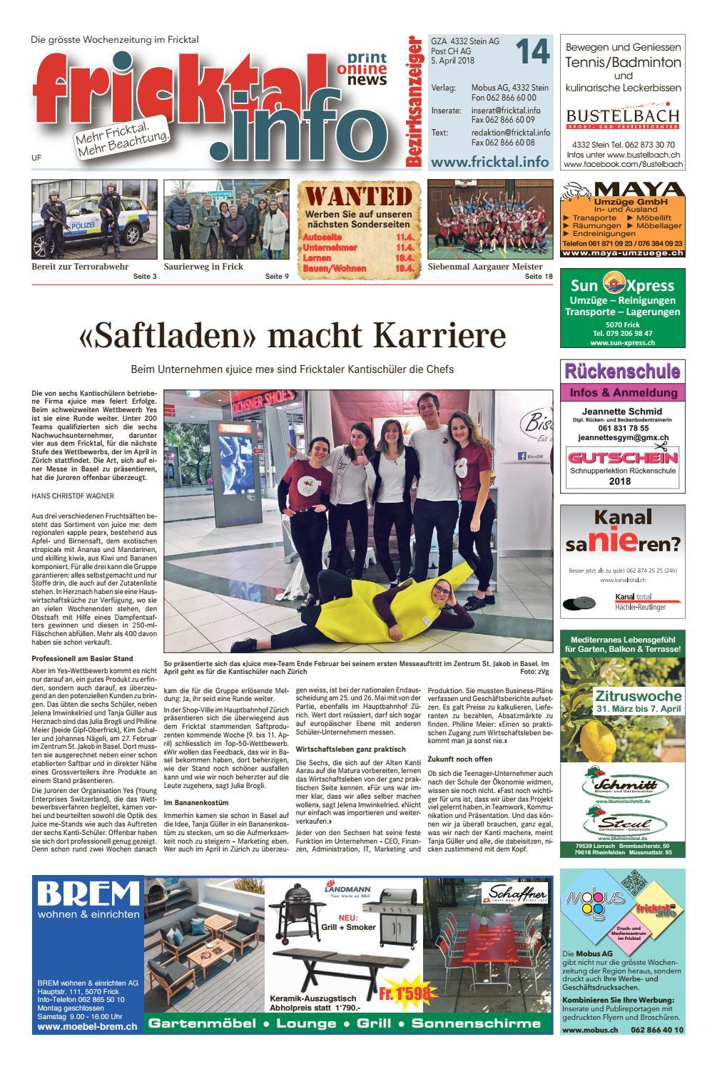 Eiken   Neue Fricktaler Zeitung