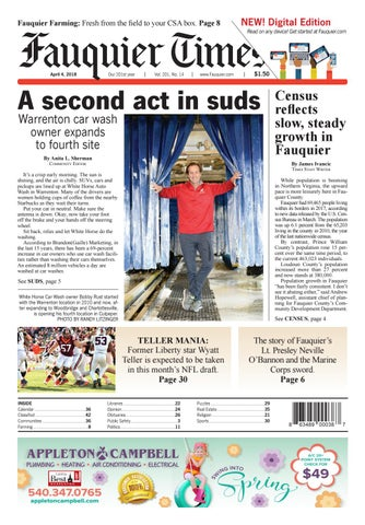 Fauquier times april 4 2018 by fauquier times issuu fandeluxe Gallery