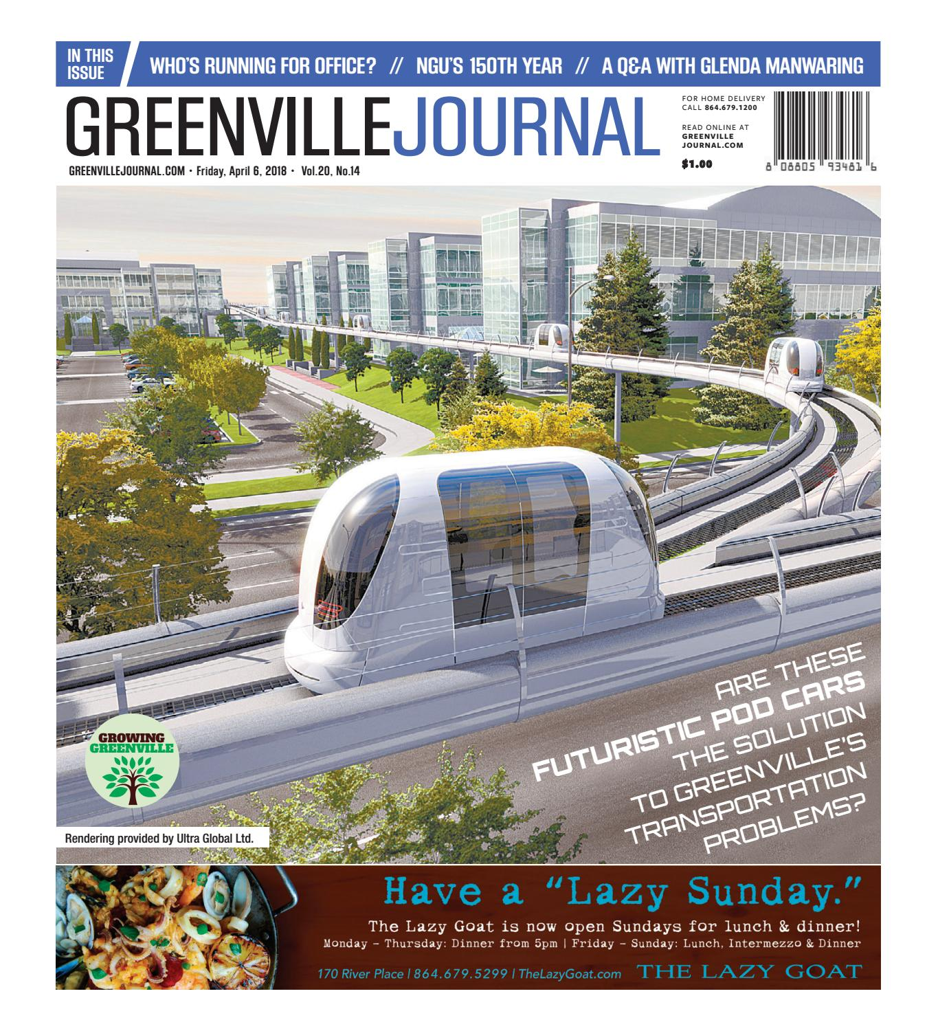 April 6, 2018 Greenville Journal by Community Journals - issuu