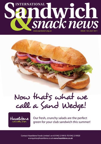 Sandwich Snack News Issue 134 By Jandmgroup Issuu