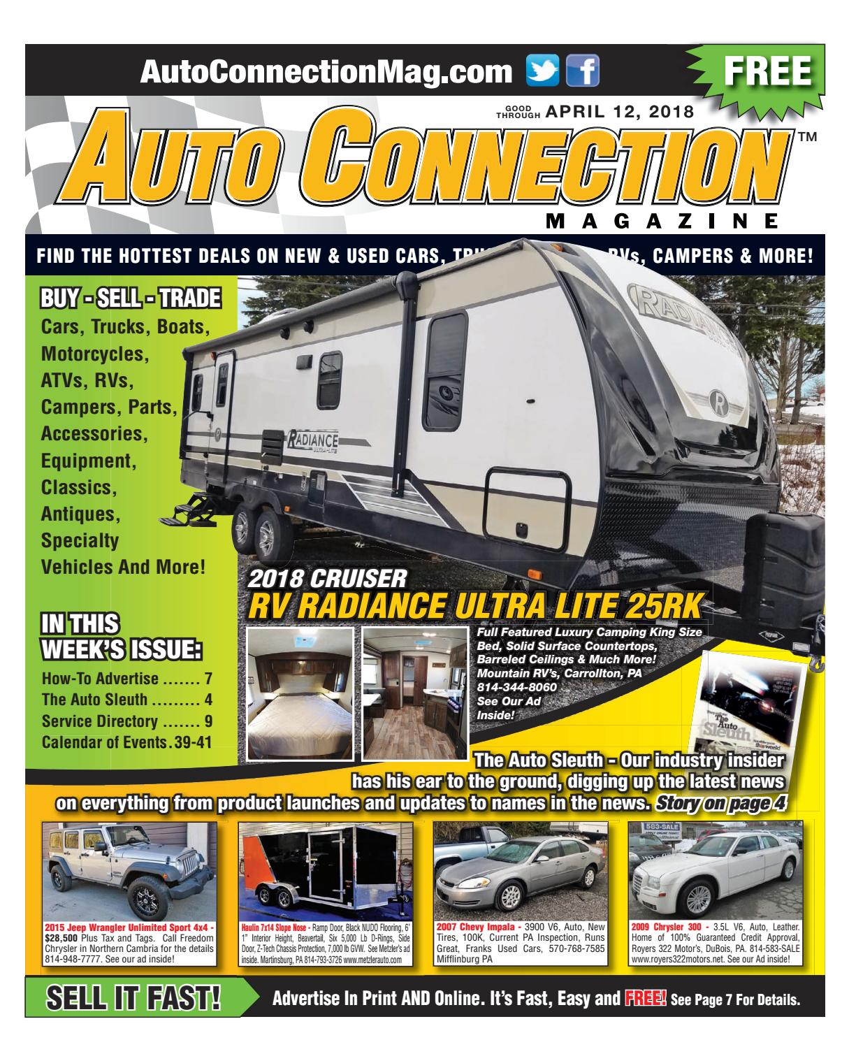04-12-18 Auto Connection Magazine by Auto Connection Magazine - issuu