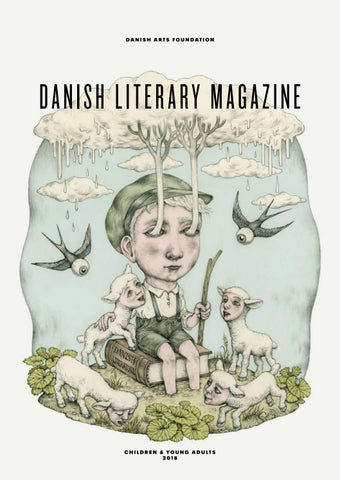 Danish literary magazine spring 2018 children and young