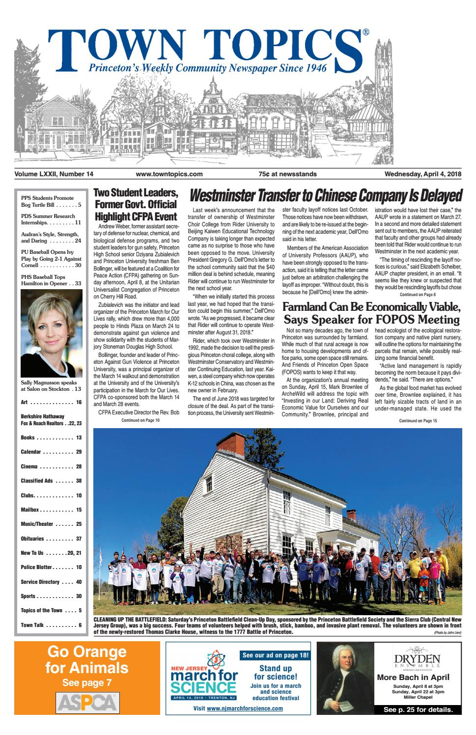 3949385d8ba Town Topics Newspaper - April 4, 2018