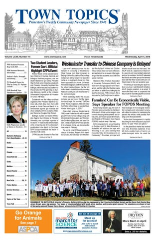 Town Topics Newspaper April 4 2018 By Witherspoon Media Group Issuu