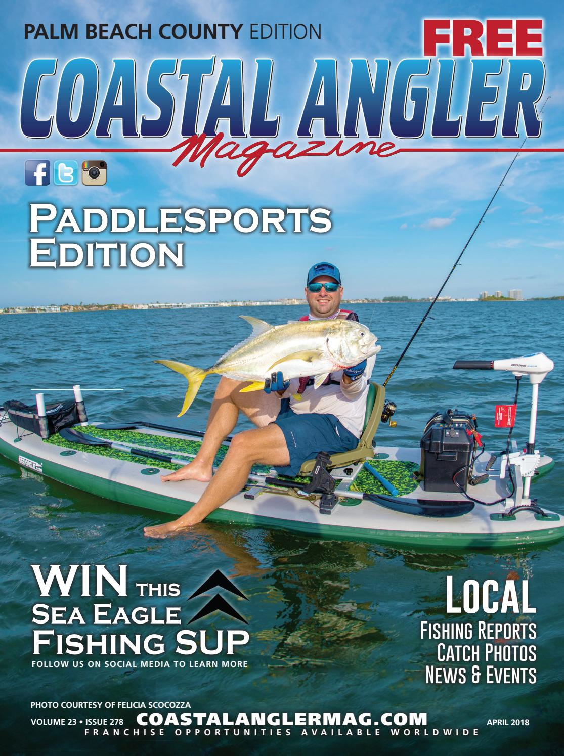 Coastal angler magazine april palm beach county by for Pure fishing inc