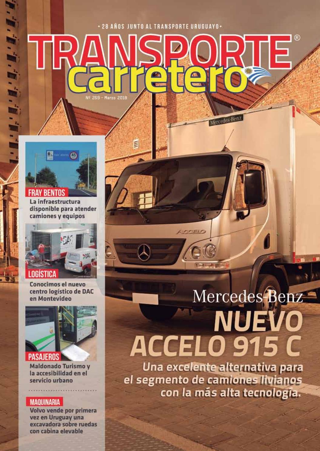 Transporte Carretero Nº 269 - marzo 2018 by Diseño Producciones - issuu